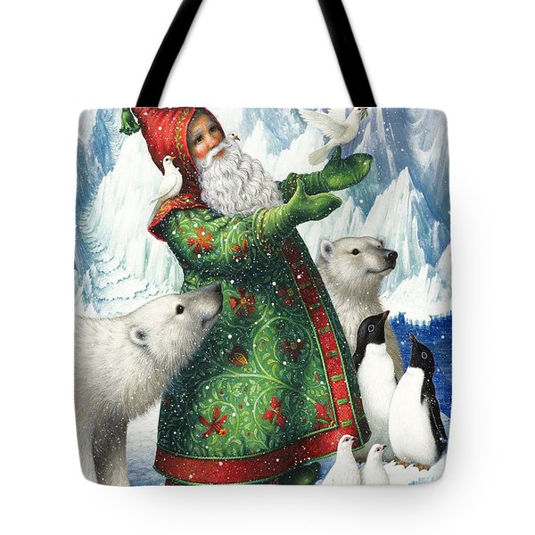 Gift Of Peace Tote Bag by Lynn Bywaters