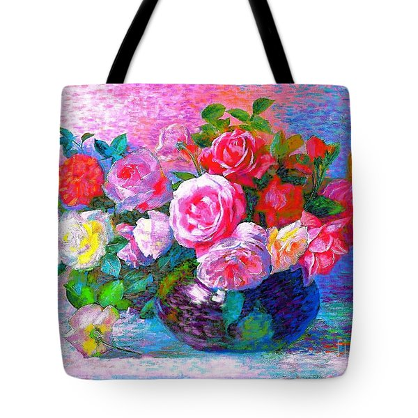 Gift of Roses Tote Bag by Jane Small