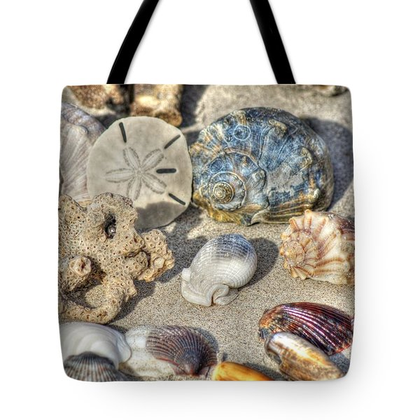 Gifts Of The Tides Tote Bag by Benanne Stiens