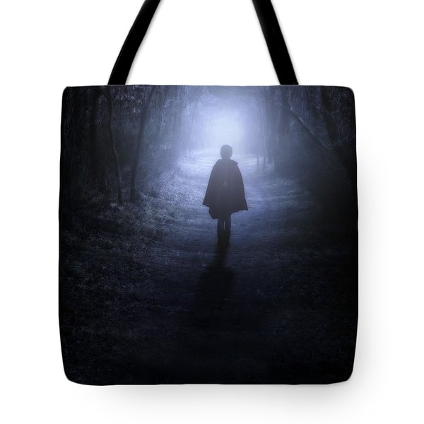 Girl In The Woods Tote Bag by Joana Kruse