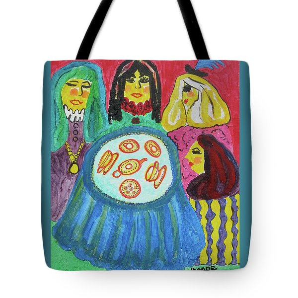Girlfriends Tote Bag by Diane Pape