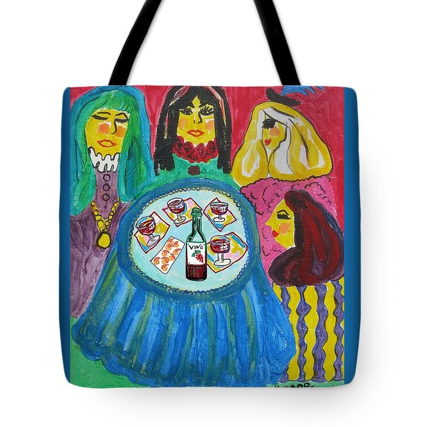 Girls Night Out Tote Bag by Diane Pape