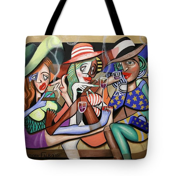 Girls Night Out Tote Bag by Anthony Falbo