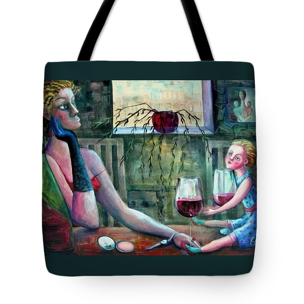 GIRLS PARTY Tote Bag by Elisheva Nesis
