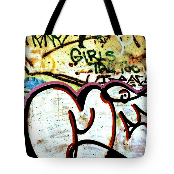 Girls Tag Too Tote Bag by Trever Miller
