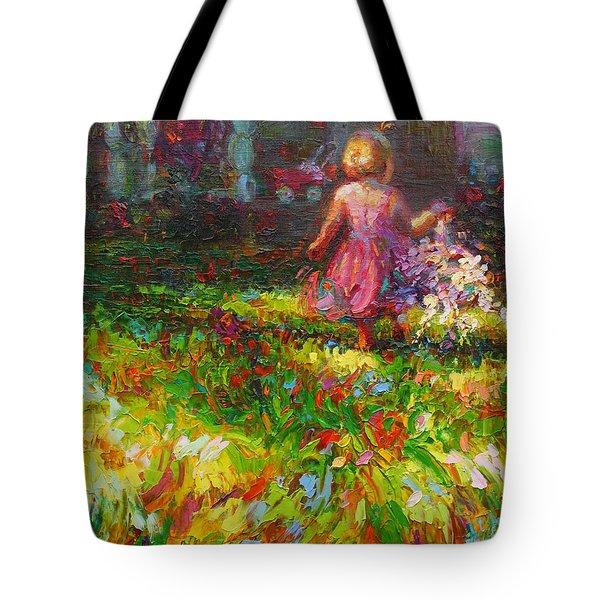 Girls Will Be Girls Tote Bag by Talya Johnson
