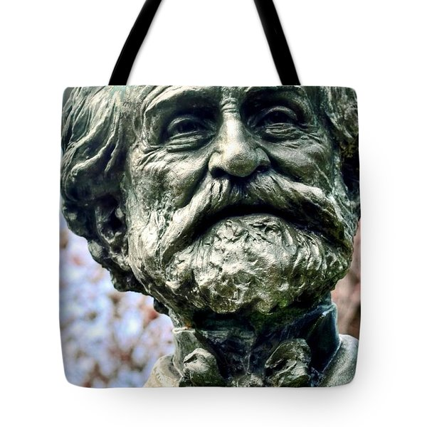 Giuseppe Verdi Tote Bag by Kathleen Struckle