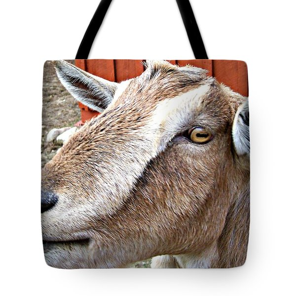 Give Us A Kiss Tote Bag by Barbara S Nickerson