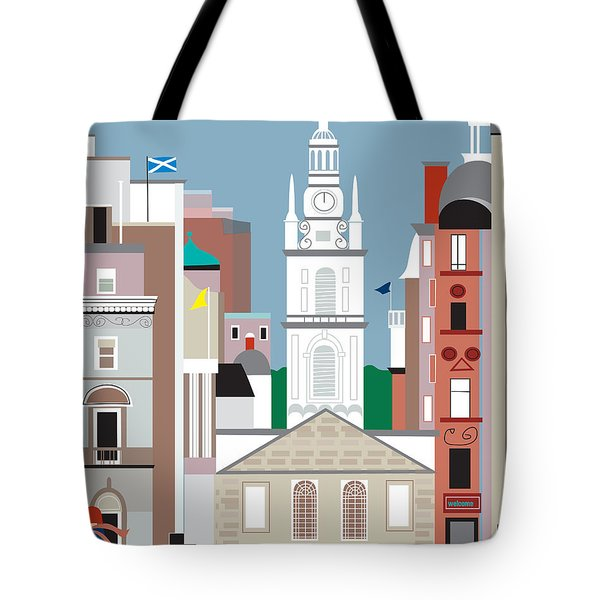 Glasgow Tote Bag by Karen Young