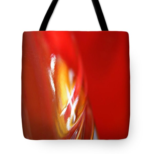 Glass Abstract 738 Tote Bag by Sarah Loft