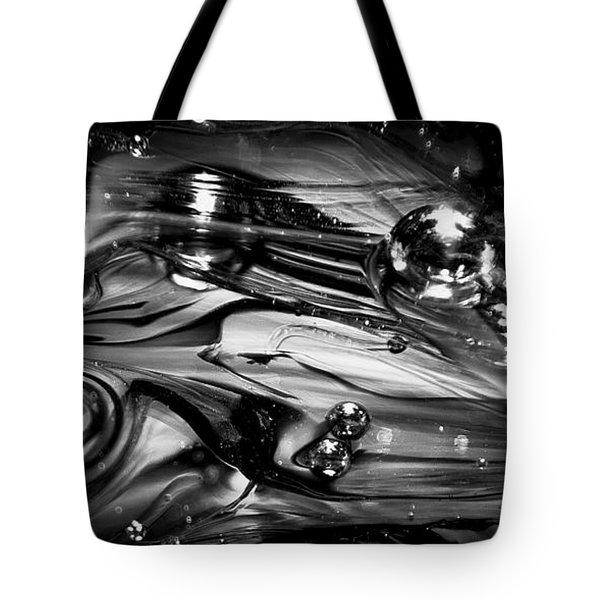 Glass Macro Rgo1ce Tote Bag by David Patterson