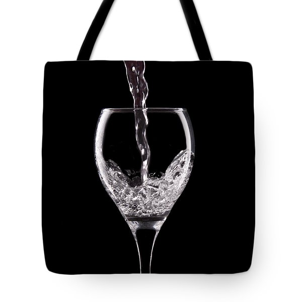 Glass of Water Tote Bag by Tom Mc Nemar