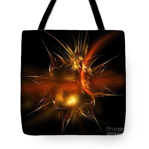 Glass Sticker Tote Bag by Elizabeth McTaggart