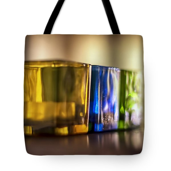 Glasses of Light Tote Bag by Nomad Art And  Design