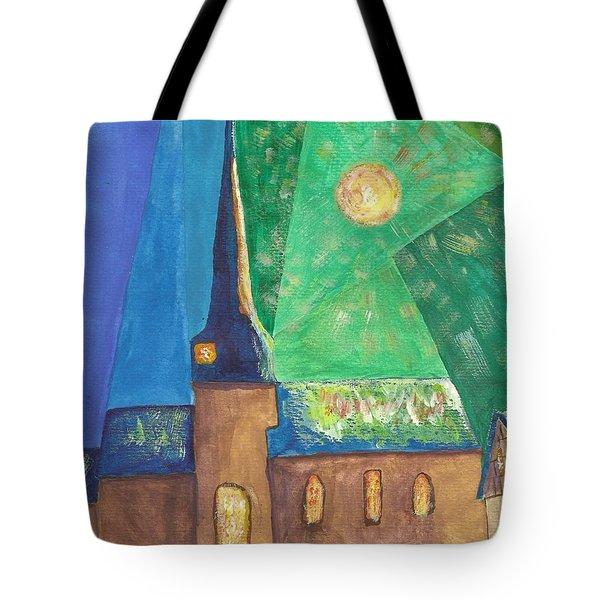 Glemroda Light Of God Tote Bag by John Williams