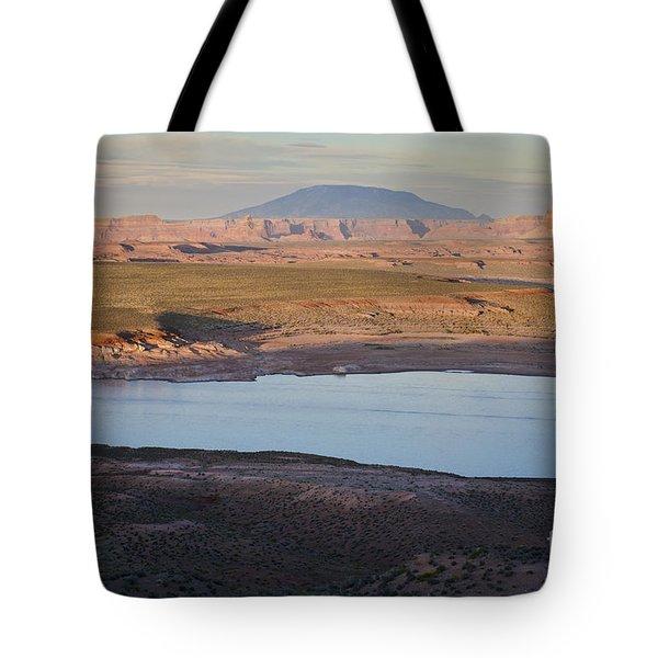Glen Canyon and Navajo Mountain Tote Bag by David Gordon