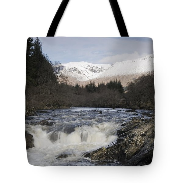 Glen Orchy Scotland Tote Bag by Pat Speirs