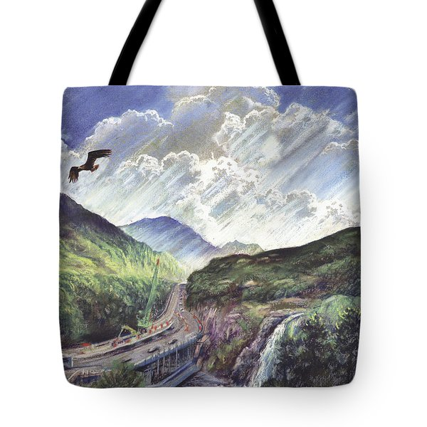 Glencoe Tote Bag by Steve Crisp