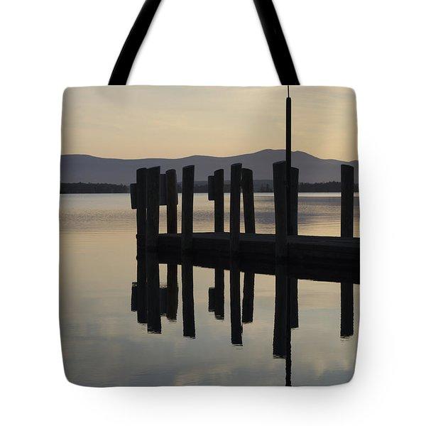Glendale Docks No. 1 Tote Bag by David Gordon