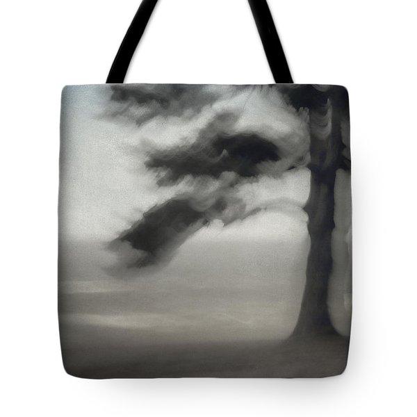 Glimpse of Coastal Pine Tote Bag by Carol Leigh