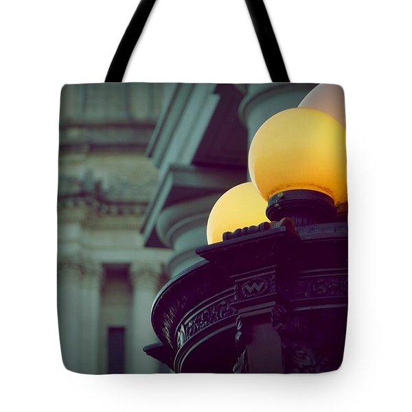 Global Lighting Tote Bag by Patricia Strand