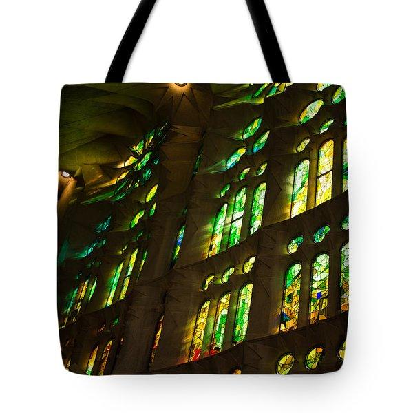Glorious Colors And Light Tote Bag by Georgia Mizuleva