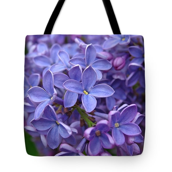 Glorious Lilac Bloom Tote Bag by Juergen Roth