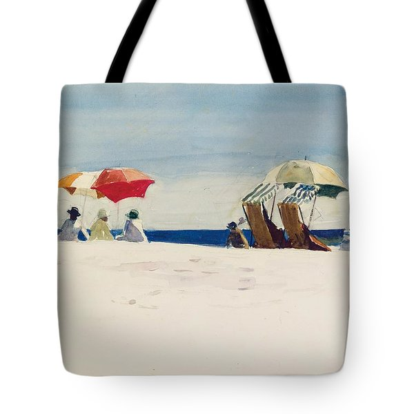 Gloucester Beach Tote Bag by Edward Hopper