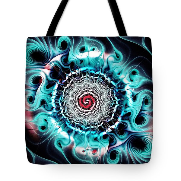 Glowing Tote Bag by Anastasiya Malakhova