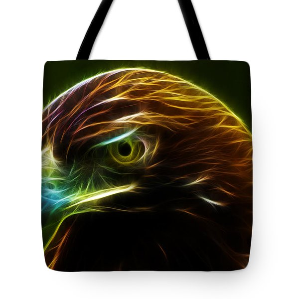 Glowing Gold Tote Bag by Shane Bechler