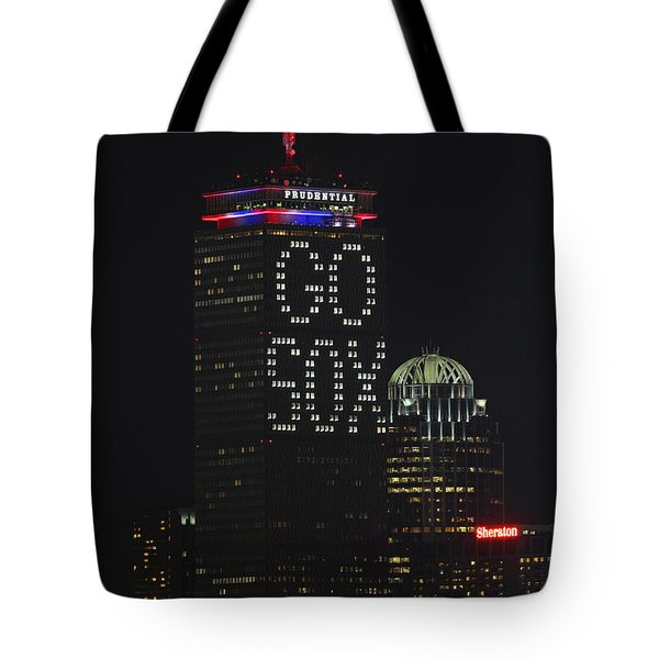 Go Boston Red Sox Tote Bag by Juergen Roth