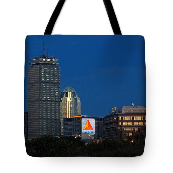 Go Red Sox Tote Bag by Juergen Roth