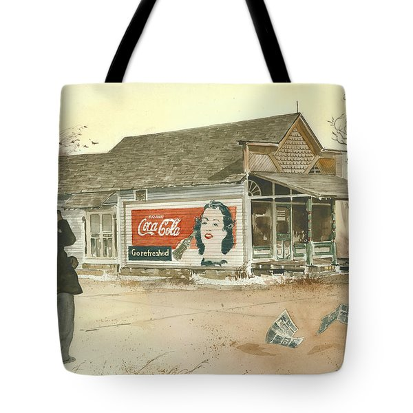 GO REFRESHED Tote Bag by Monte Toon