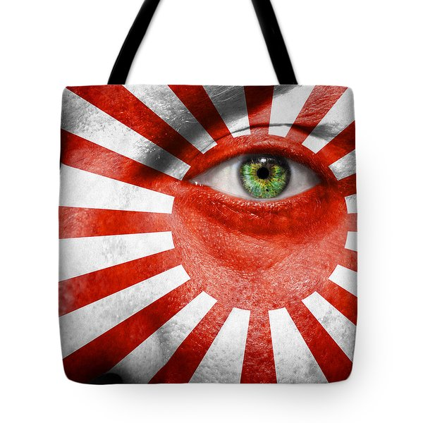 Go Rising Sun Tote Bag by Semmick Photo