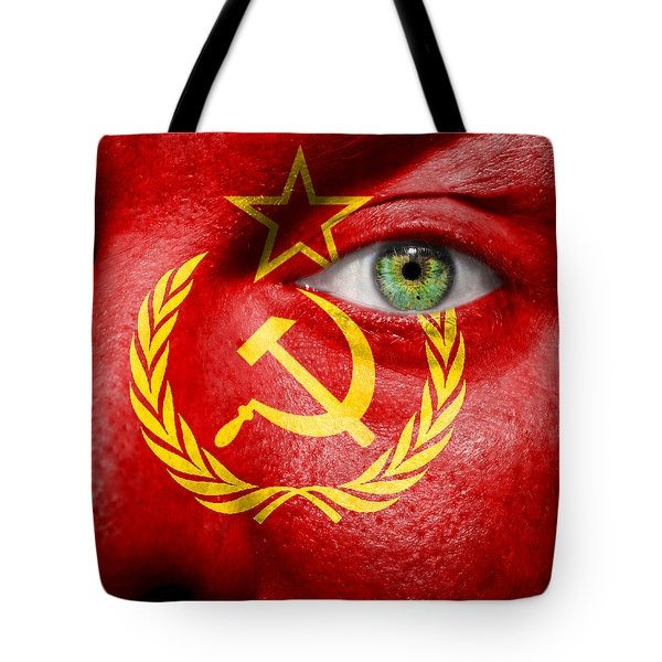 Go Ussr Tote Bag by Semmick Photo