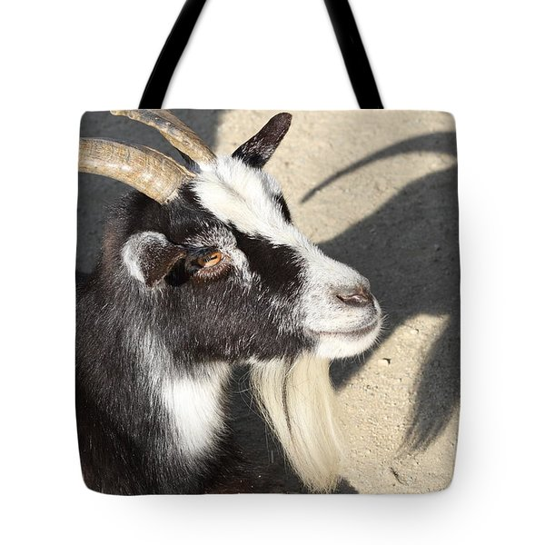 Goat 7d27402 Tote Bag by Wingsdomain Art and Photography