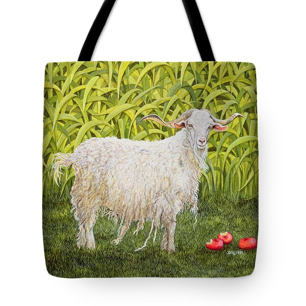 Goat Tote Bag by Ditz