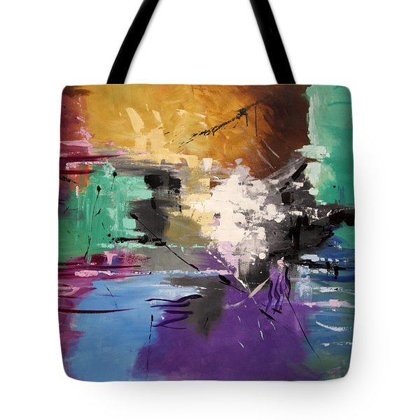 God Is Love Tote Bag by Anthony Falbo