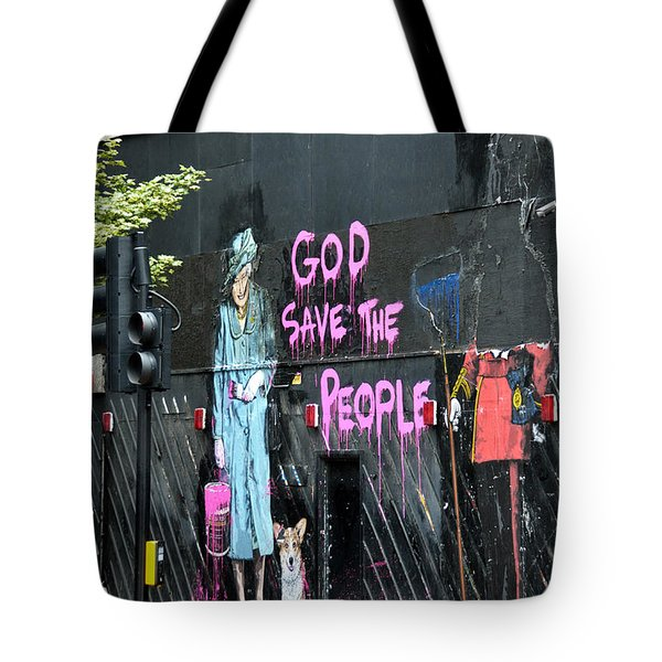 God Save The People Tote Bag by RicardMN Photography