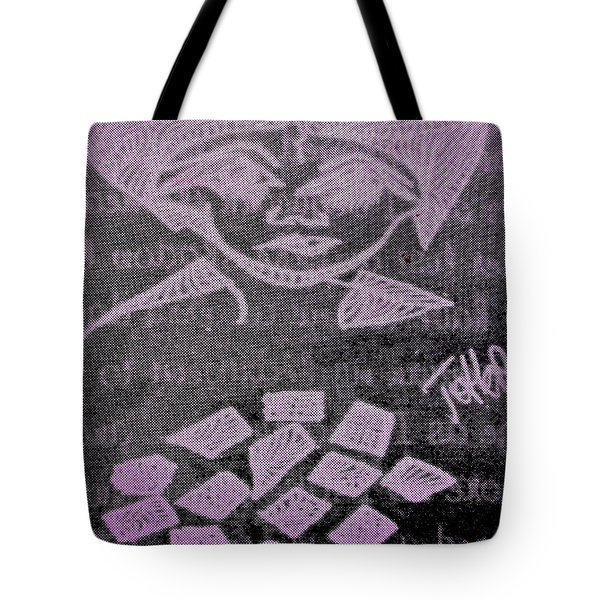 Goddess Archetype Of Magic Wishes Tote Bag by Lady Picasso Tetka Rhu