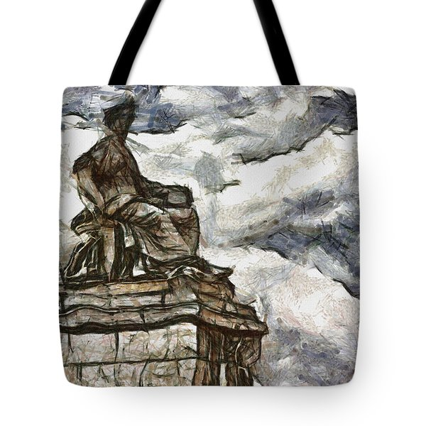 Goddess Tote Bag by Ayse Deniz