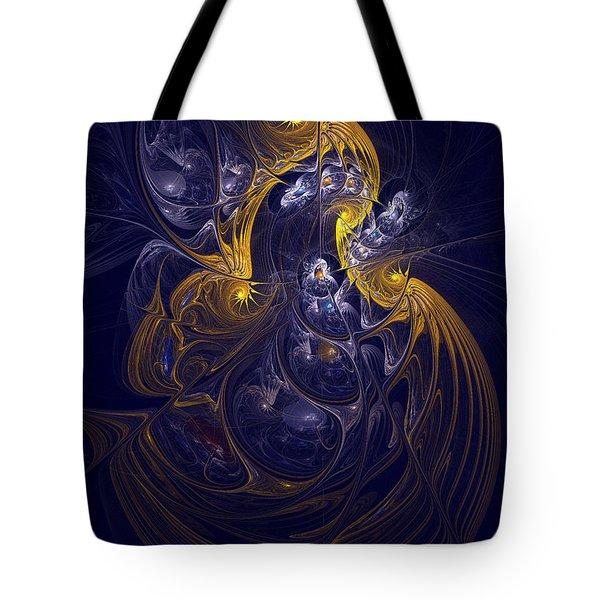 Goddess Of Healing Energy Tote Bag by Deborah Benoit
