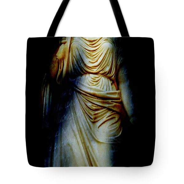 Goddess Of The Night Tote Bag by Diana Angstadt