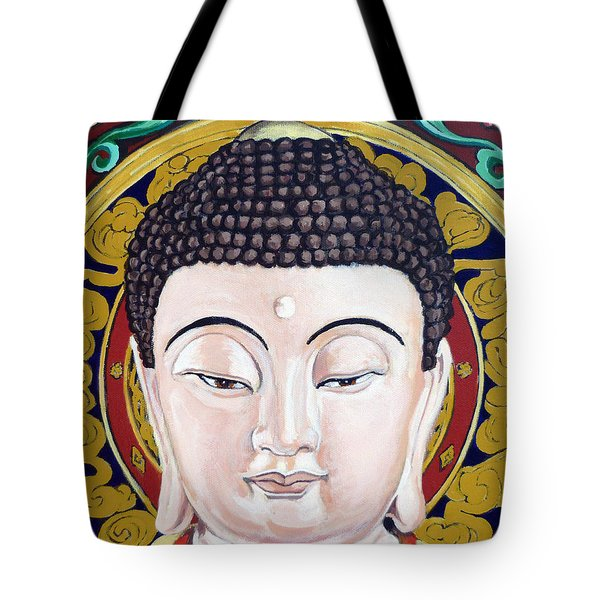 Goddess Tara Tote Bag by Tom Roderick