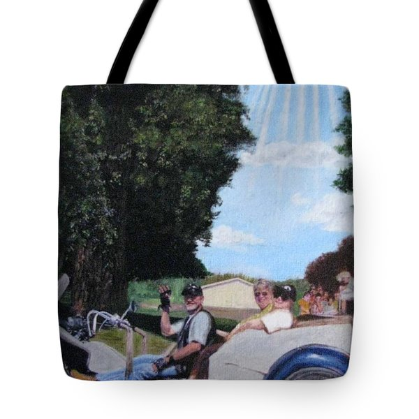 Gods Best Angel Tote Bag by Sherryl Lapping