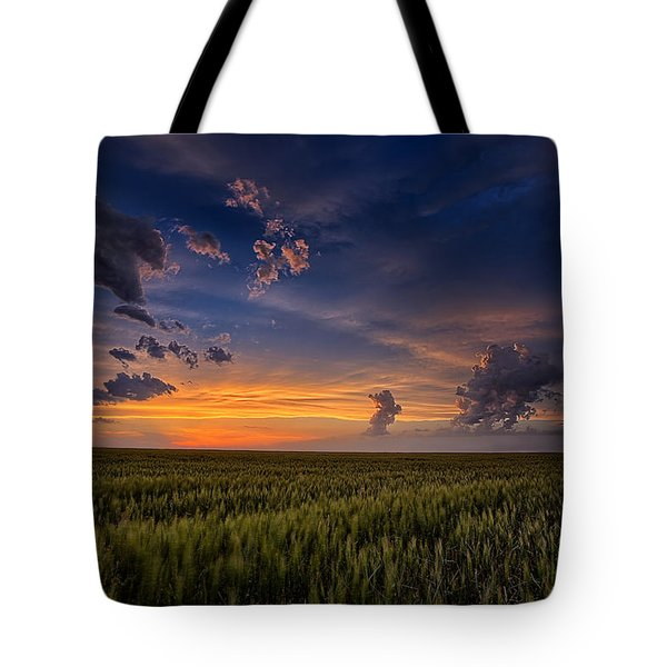 God's Country Tote Bag by Thomas Zimmerman