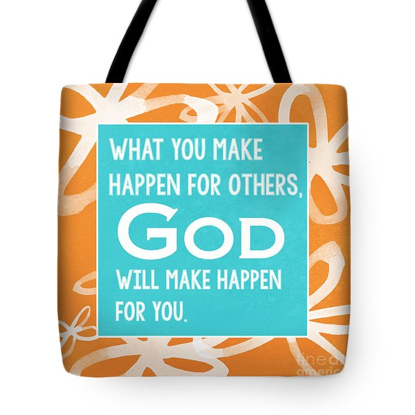 God's Gift Tote Bag by Linda Woods