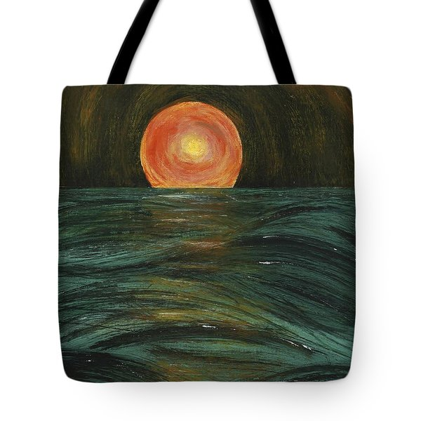 Going Down Tote Bag by Susan Sadoury