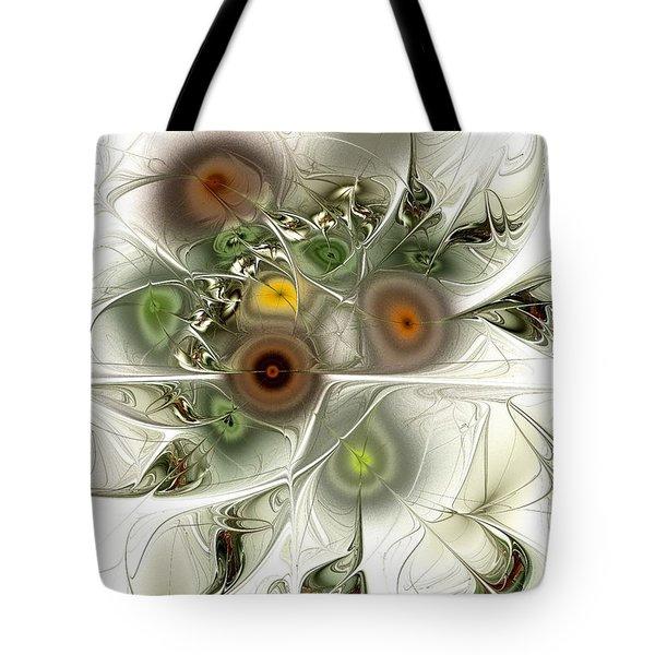 Going Green Tote Bag by Anastasiya Malakhova