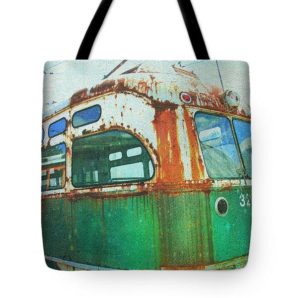 Going Green Tote Bag by Sheryl Bergman